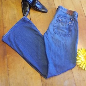 Lucky Brand Charlie Flare Abbey Jeans Size 6/28
